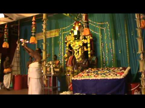 3rd Week   Unveiling of Lord Perumal