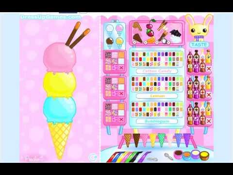 Game làm kem cây - Chơi game bạn gái làm kem hay