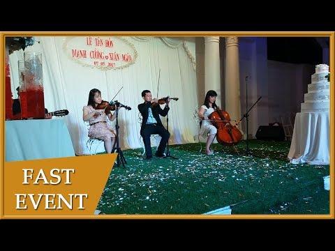 Ban Nhạc Hòa Tấu Biểu Diễn Tiệc Cưới - 0932.995.932