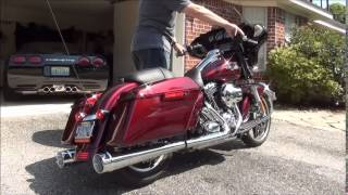 Difference Between Street Glide And Road Glide >> CARY FAAS RACING CFR SLIP ON EXHAUST HARLEY STREET GLIDE ...