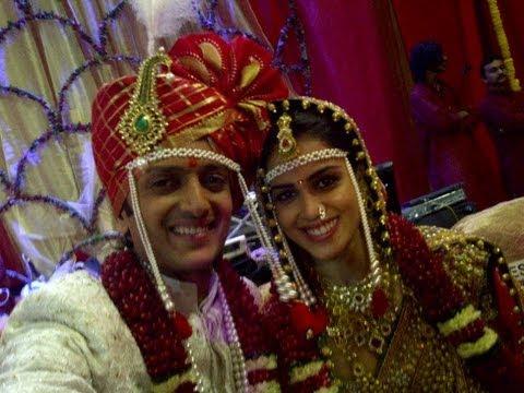 Riteish Deshmukh And Genelia D'Souza Wedding