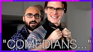 """""""Comedians"""" on Hoverboards Getting Chicken McNuggets - Michael (Vsauce)"""