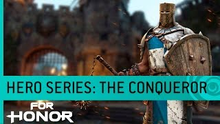 For Honor - The Conqueror: Lovag Játékmenet Trailer