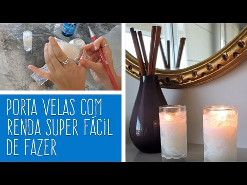DIY - VELAS DECORATIVAS