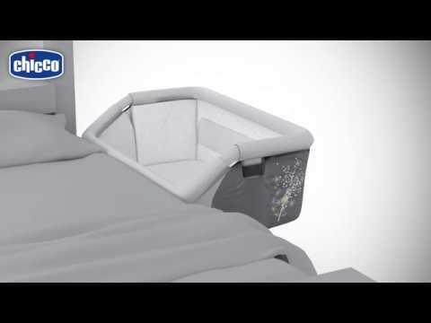 Chicco Next2Me Dream Crib - Graphite