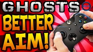 Call Of Duty: Ghosts Improve YOUR Aim! 5 TOP TIPS