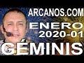 Video Horóscopo Semanal GÉMINIS  del 29 Diciembre 2019 al 4 Enero 2020 (Semana 2019-53) (Lectura del Tarot)