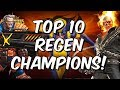 Top 10 Regeneration Champions Marvel Contest Of Champions