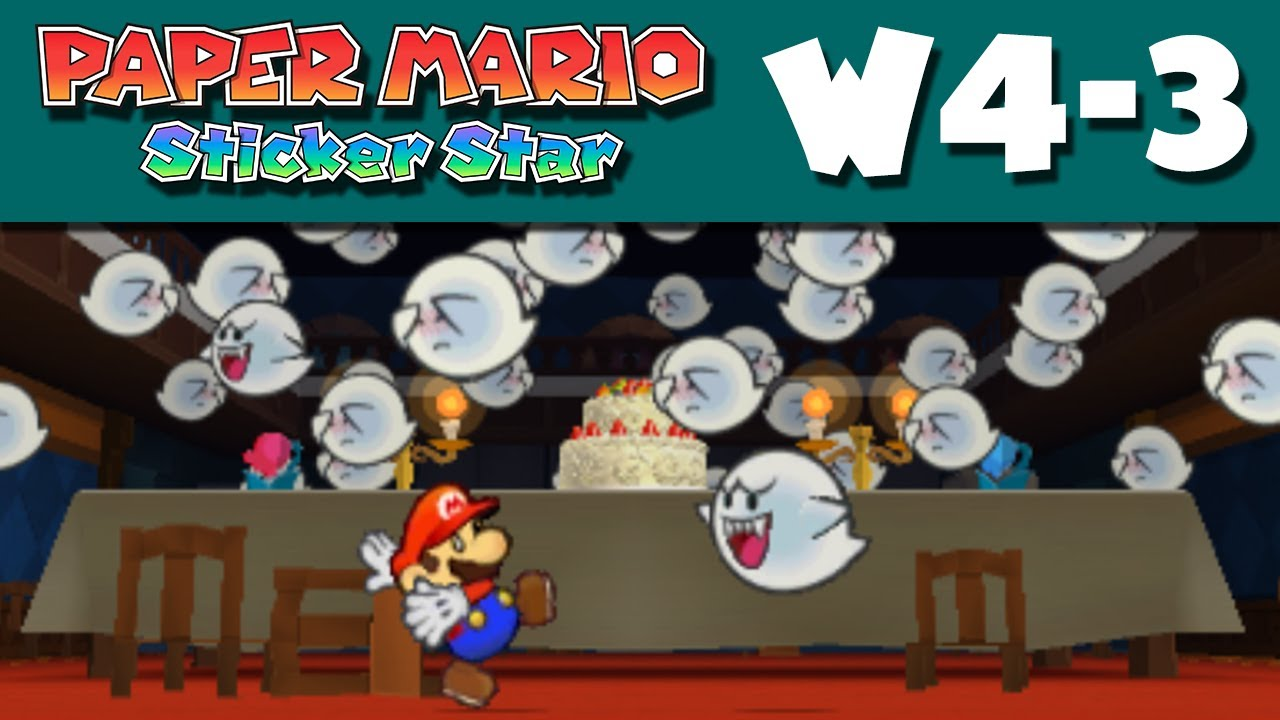 help with paper mario sticker star Nintendo's paper mario series plays with mario as icon, and  that using the 3ds  built-in notes app could help with the 'finding the exact right.