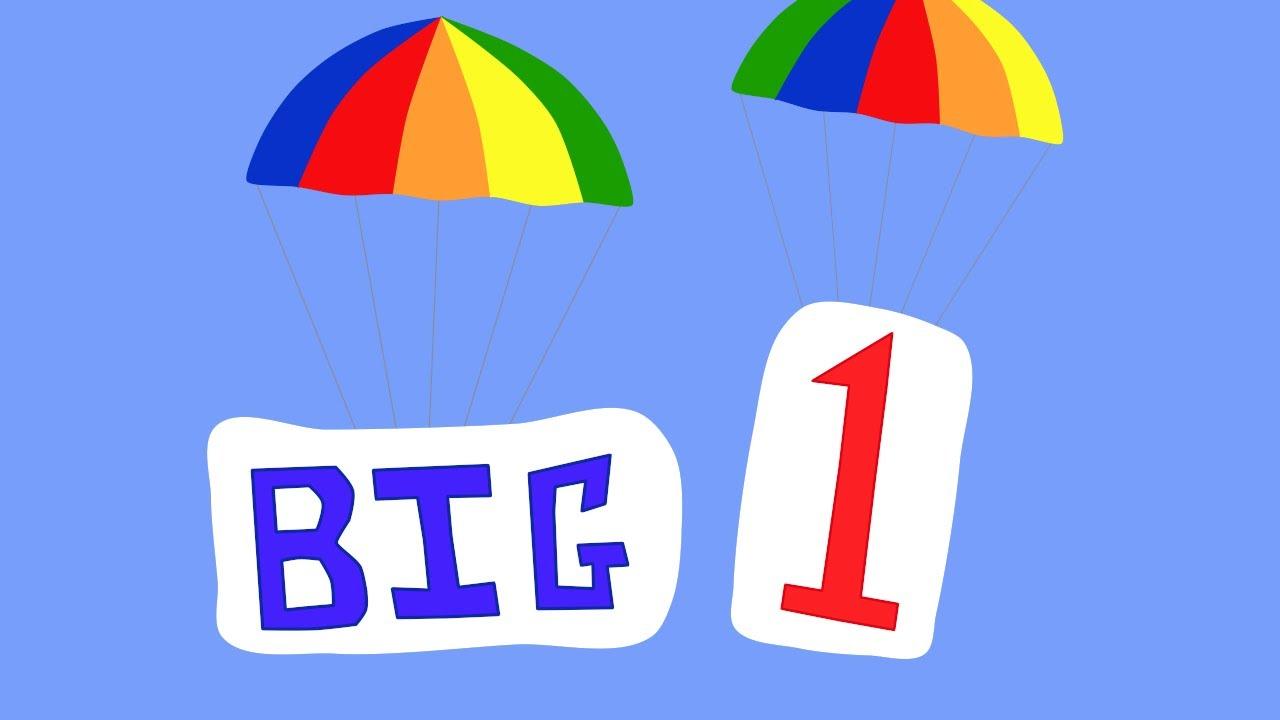 Parachute Letters - BIG 1 - YouTube