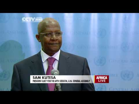 Sam Kutesa Elected President Of The U.N. General Assembly