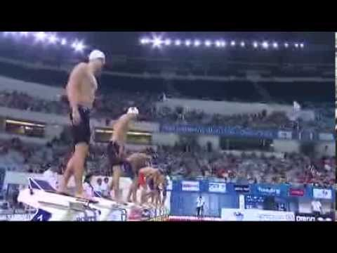 Men's 50m freestyle final FINA Swimming World Cup 2013 Dubai