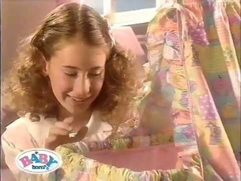 zapf baby born werbung bettchen 2000 youtube. Black Bedroom Furniture Sets. Home Design Ideas