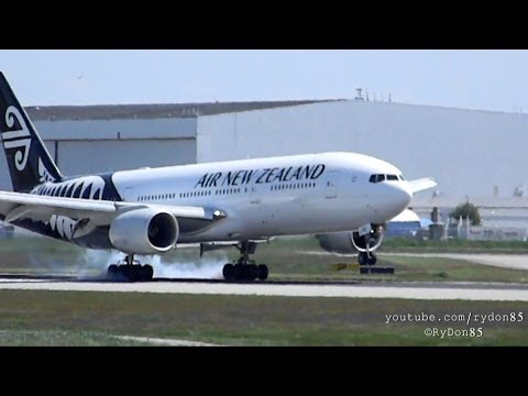Air New Zealand - New Livery 777-200ER [ZK-OKC] 26R Arrival at Vancouver Intl - YVR