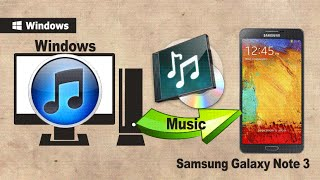 How To Sync Galaxy Note 3 With ITunes? How To Transfer