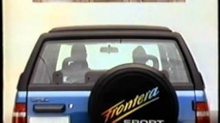Opel Frontera Werbung 1992