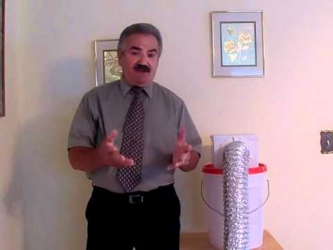 Indoor Dryer Vent And Lint Collector Youtube