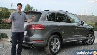2014 Volkswagen Touareg TDI R-Line Test Drive & Diesel SUV