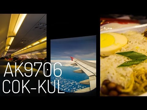 AirAsia AK9706 : Flight from Kochi to Kuala Lumpur