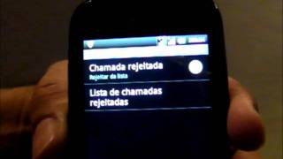 Como Bloquear Chamadas No LG Optimus P 698 Android 2.3