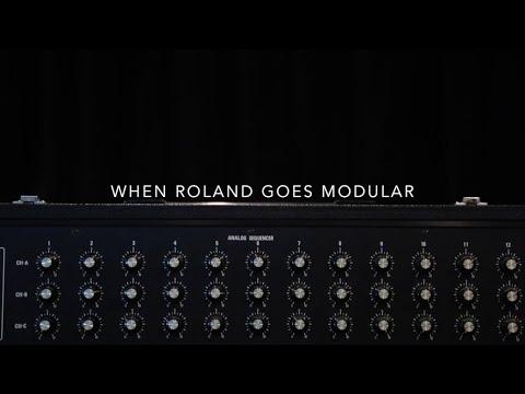 Roland System 500 Analog Modular Synthesizer - Complete Eurorack Set