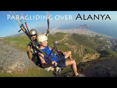 TURKEY: paragliding over Alanya [HD]
