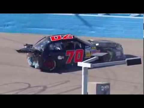 Derrike Cope Hard Crash @ 2013 Servicemaster 200 Qualifying