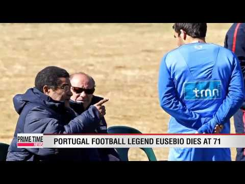 Football: Portugal legend Eusebio dead