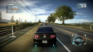 Need For Speed The Run Multiplayer Gameplay [HD] Tier 2 Ford Mustang RTR [Muscle, Blue Ridge]
