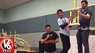 NRI Student Devesh Wins Super State Chess Championship Tourney
