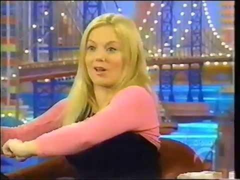 Geri Halliwell   on Rosie Odonnell 1999