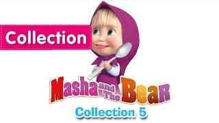 Máša a Medveď - tri anglické časti