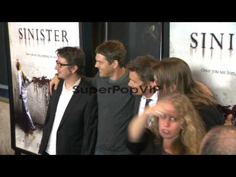 Scott Derrickson, Jason Blum, Ethan Hawke and Robert Carg...