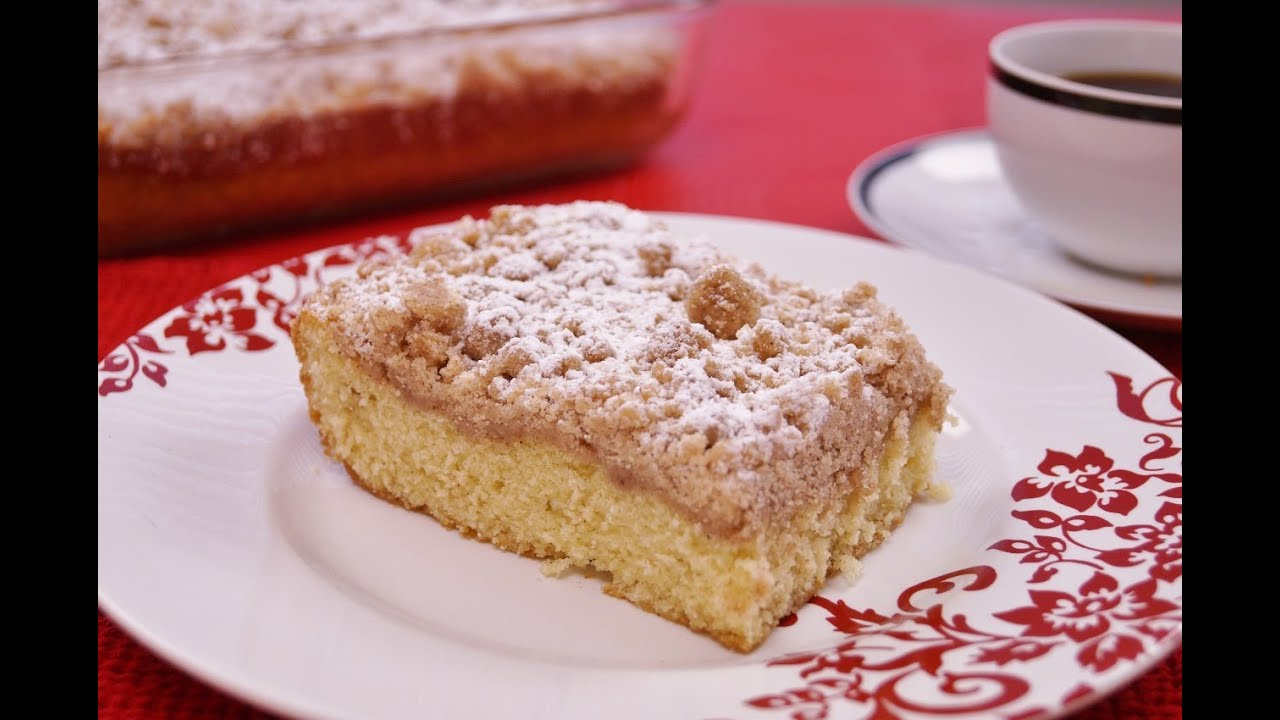 Coffee Cake Recipe From Scratch