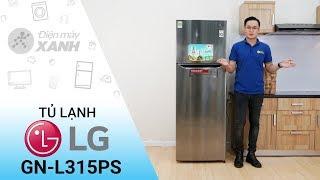 Tủ lạnh LG Inverter 315 lít GN-L315PS - Tiết kiệm điện hơn nhờ Linear inverter   Điện máy XANH