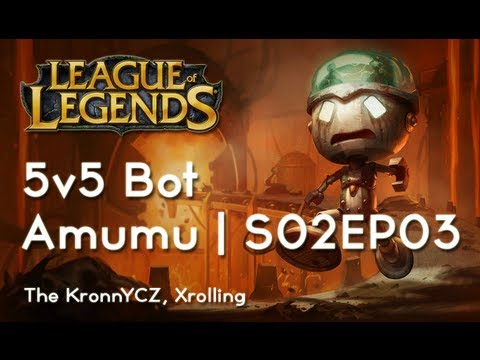 League of Legends | Games - { 5v5 } Amumu (Série 2, Epizoda 3) [HD|CZ]