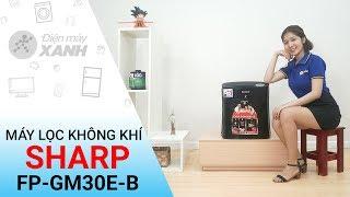 Máy lọc không khí có bắt muỗi Sharp FP-GM30E-B - Nhà cửa luôn sạch sẽ | Điện máy XANH