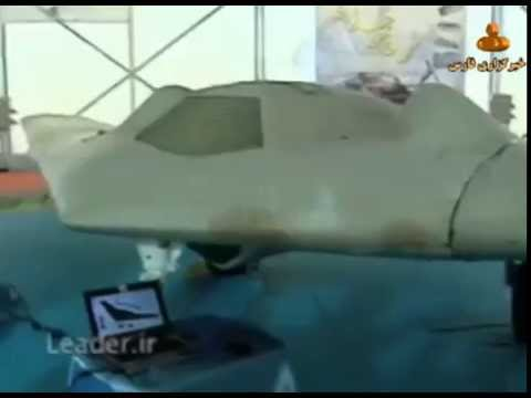 RQ-170 Sentinel stealth drone allegedly copied by Iran