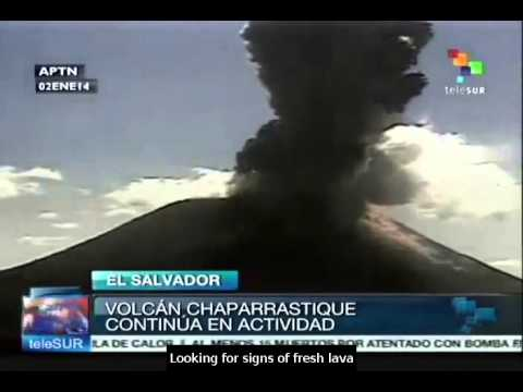 El Salvador begins evacuation after Chaparrastique volcano erupts