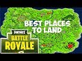 Where You Should Land In Fortnite Battle Royale