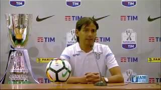 #SupercoppaTIM | La conferenza di mister #Inzaghi alla vigilia di #JuveLazio
