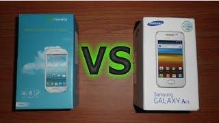 (Comparativa) Galaxy S3 Mini Vs Galaxy Ace Android