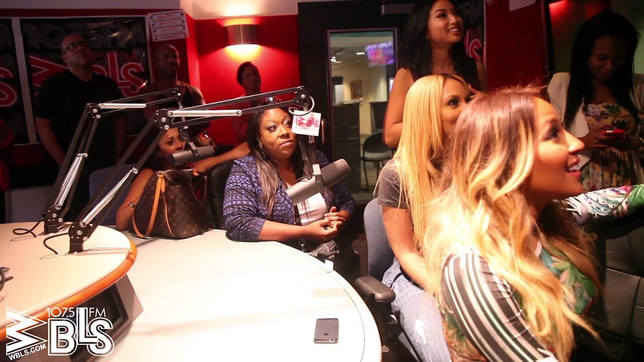 The cast from quot the real quot watches their talk show debut from the wbls