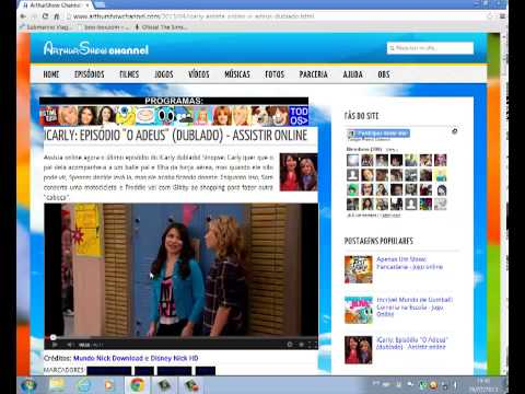 como assistir o ultimo episodio da ultima temporada de ICARLY