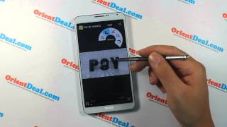 Galaxy Interface Orientphone N3 N9000: Samsung Galaxy Note