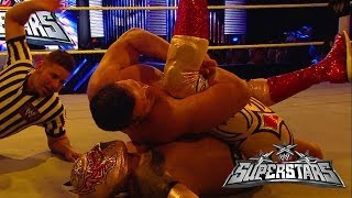 Sin Cara Vs. Alberto Del Rio: WWE Superstars, March 13