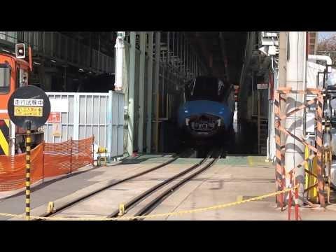 フリーゲージトレイン3次車 試運転 川崎重工兵庫