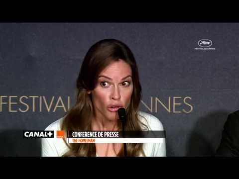 Cannes 2014 - Hilary Swank :