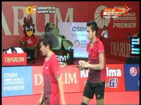 Indonesia Open Superseries Premier 2011 XDSF Tantowi / NATSIR [IND] vs LAYBOURN / RYTTER JUHL P3