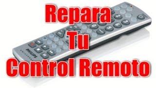 Reparar un control remoto sin gastar dinero